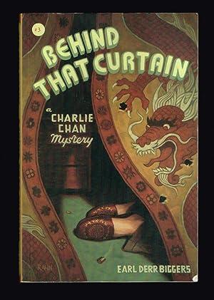 Behind That Curtain (Charlie Chan Mystery): Biggers, Earl Derr