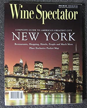 Wine Spectator: April 30, 1998 (Vol. 23, No. 1)