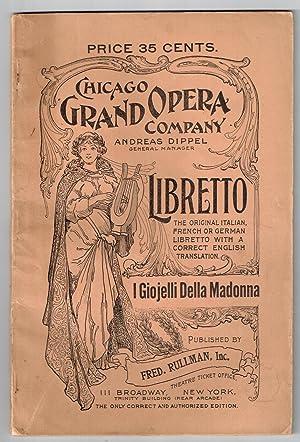 I gioielli della Madonna (The Jewels of: Wolf-Ferrari, Ermanno (Composer);