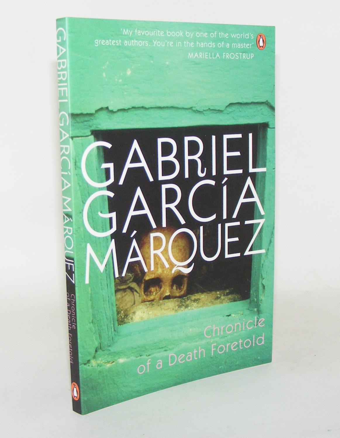 a book report on chronicles of a death foretold by gabriel garca mrquez Chronicle of a death foretold by gabriel garcía márquez about chronicle of a death foretold smell and hear garcia marquez's caribbean backwater.