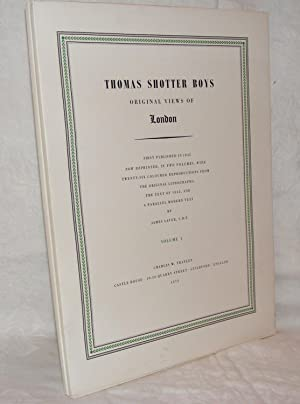 THOMAS SHOTTER BOYS Original Views Of London: BOYS Thomas Shotter,