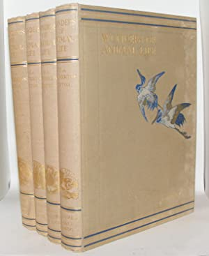 WONDERS OF ANIMAL LIFE in Four Volumes: HAMMERTON J.A.