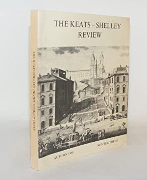 THE KEATS-SHELLEY REVIEW Number 3: WEBB Timothy