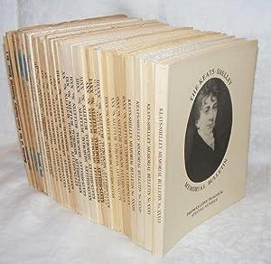 THE KEATS-SHELLEY MEMORIAL BULLETIN 31 Volumes: RODD Sir Rennell, GAY H. Nelson, HEWLETT Dorothy, ...