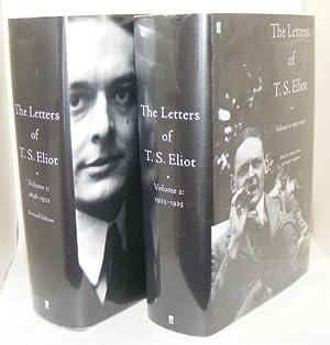 THE LETTERS OF T.S. ELIOT Volume 1 1898 - 1922 [&] Volume 2 1923 - 1925: ELIOT T.S., HAUGHTON ...