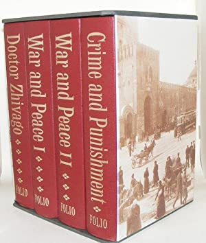 GREAT RUSSIAN NOVELS Doctor Zhivago, War and Peace Crima and Punishment: PASTERNAK Boris, TOLSTOY ...