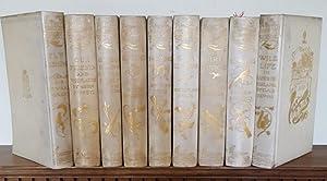 THE HADDON HALL LIBRARY 9 Volumes Fly: GREY Sir Edward,
