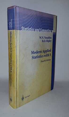 MODERN APPLIED STATISTICS WITH S.: VENABLES W.N., RIPLEY
