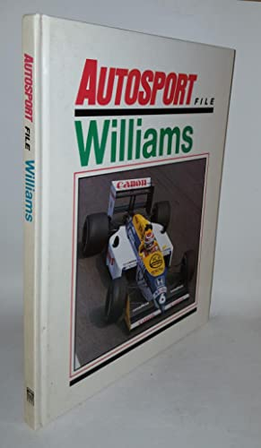 WILLIAMS Autosport File: SPURRING Quentin