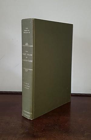 THE FIRST FOLIO OF SHAKESPEARE The Norton: SHAKESPEARE William, HINMAN