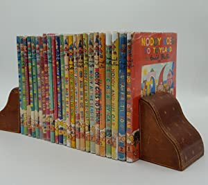 THE NODDY BOOKS 24 Volumes Noddy Goes to Toyland, Hurrah For Little Noddy, Noddy and His Car, Her...