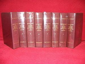 DICTIONNAIRE DES PEINTRES SCULPTEURS DESSINATEURS ET GRAVEURS Volume 1 - 8 Complete: BENEZIT E.