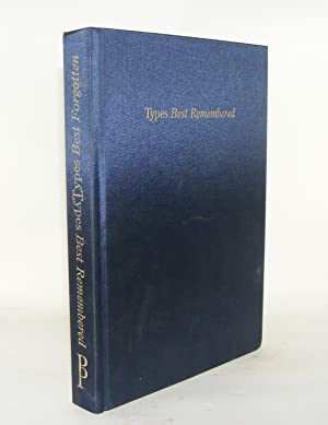 A COLLECTION OF OBSERVATIONS ON TYPES BEST REMEMBERED A COLLECTION OF OBSERVATIONS ON TYPES BEST ...