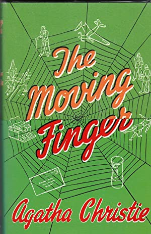 The Moving Finger **first printing, facsimile reproduction of first edition, with wraparound band**