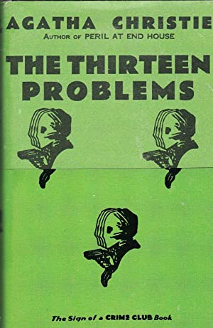 The Thirteen Problems **first printing, facsimile edition, with wraparound band**
