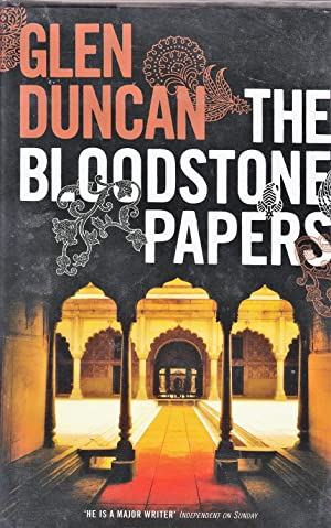 The Bloodstone Papers **signed and dated first edition**