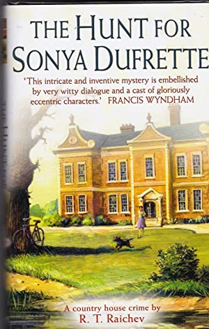 The Search for Sonya Dufrette **signed first edition, first in a series of Country House crime no...