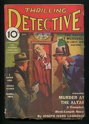 Thrilling Detective (June 1933): Harvey Burns, ed.)