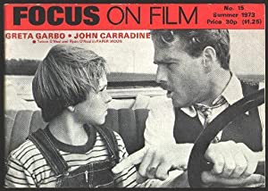 Focus on Film (No. 15, Summer 1973) [cover: Tatum O'Neal and Ryan O'Neal in PAPER MOON]
