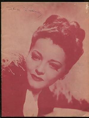 Joan of Lorraine [souvenir program] [*SIGNED*]: Sidney, Sylvia} {Anderson,