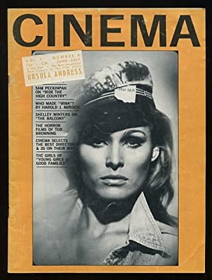 Cinema [magazine] (June-July 1963) [cover: Ursula Andress]
