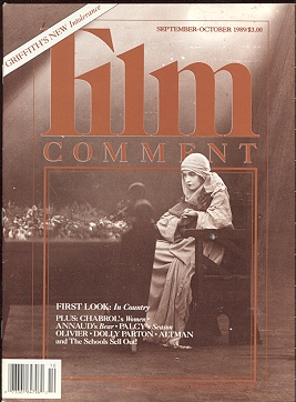 Film Comment (September-October 1989) [Lillian Gish/INTOLERANCE cover]