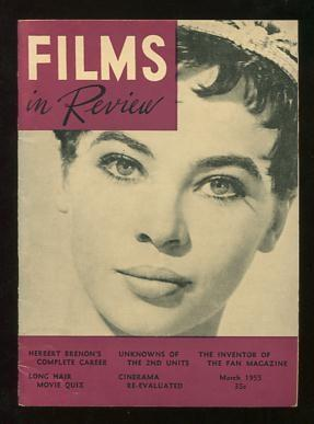 Films in Review (March 1955) [cover: Leslie Caron in