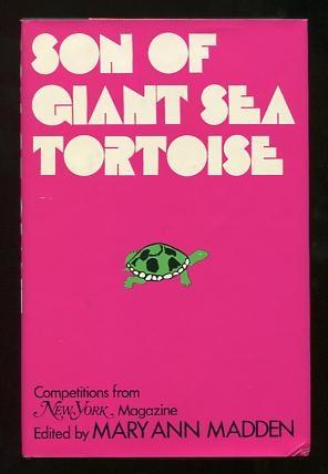 Son of Giant Sea Tortoise: Competitions from: Madden, Mary Ann,