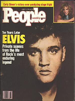People Weekly [magazine] (August 17, 1987) [Elvis: Presley, Elvis}