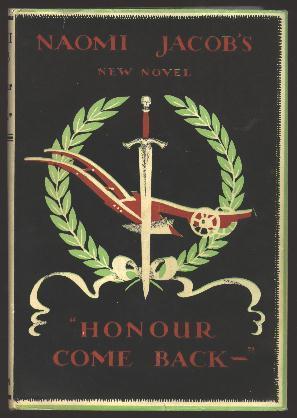 Honour Come Back --: Jacob, Naomi