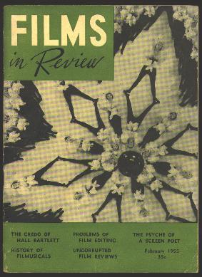 Films in Review (February 1955) [cover: still from Busby Berkeley's