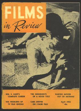 Films in Review (April 1955) [cover: Glenn Ford and Eleanor Parker in