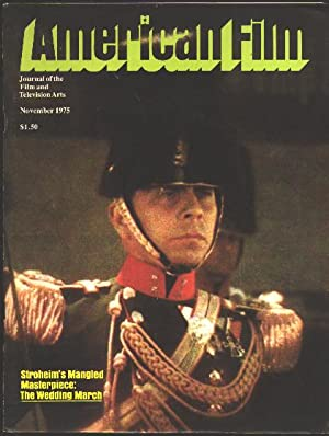 American Film: Journal of the Film and: Alpert, Hollis, ed.