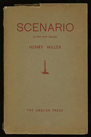 Scenario (A Film with Sound) [*SIGNED* limited: Miller, Henry