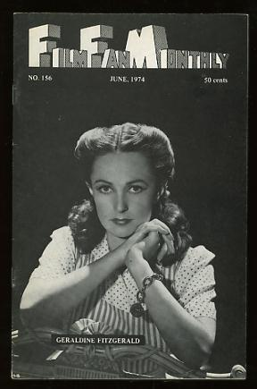 Film Fan Monthly (June 1974) [cover: Geraldine Fitzgerald]