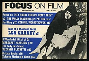 Focus on Film (No. 3, May-August 1970): Eyles, Allen, ed.)