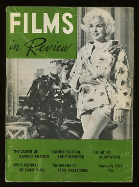Films in Review (June-July 1963) [cover: Marilyn Monroe in the aborted SOMETHING'S GOT TO GIVE]