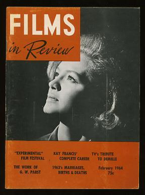 Films in Review (February 1964) [cover: Angie Dickinson in CAPTAIN NEWMAN, M.D.]