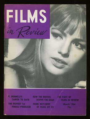 Films in Review (March 1964) [cover: Catherine Spaak in THE EMPTY CANVAS]
