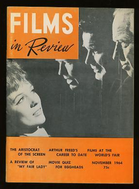 Films in Review (November 1964) [cover: Andrews, Coburn, Garner, and Douglas in THE AMERICANIZATI...