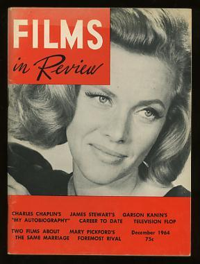 Films in Review (December 1964) [cover: Honor Blackman in GOLDFINGER]