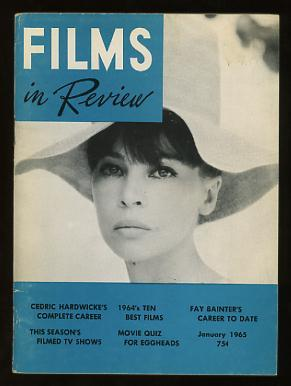 Films in Review (January 1965) [cover: Leslie Caron in FATHER GOOSE]