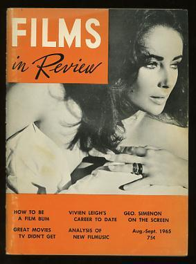Films in Review (August-September 1965) [cover: Elizabeth Taylor in THE SANDPIPER]