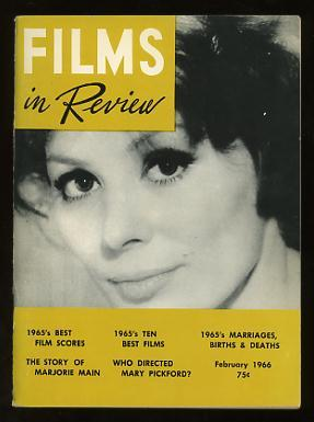 Films in Review (February 1966) [cover: Irina Demick in MALE COMPANION]