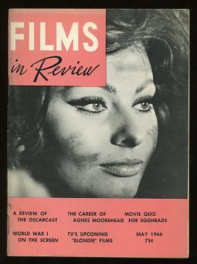 Films in Review (May 1966) [cover: Sophia Loren in ARABESQUE]