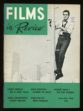 Films in Review (June-July 1966) [cover: Sean Connery in A FINE MADNESS]