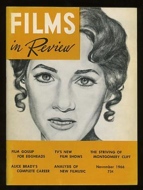 Films in Review (November 1966) [cover: Julie Andrews in HAWAII]