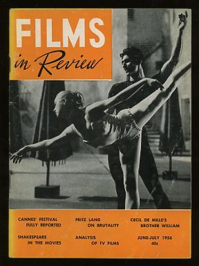 Films in Review (June-July 1956) [cover: Claire Sambert and Igor Youskevitch in INVITATION TO THE...