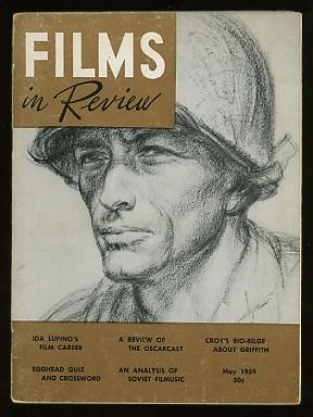 Films in Review (May 1959) [cover: Gregory Peck (in PORK CHOP HILL), drawn by Howard Brodie]