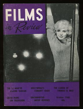 Films in Review (October 1960) [cover: Marilyn Monroe in LET'S MAKE LOVE]